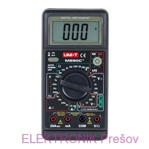 Multimeter M890C+ = DT890C