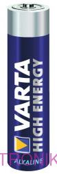 Batéria VARTA High Energy AAA (R03)