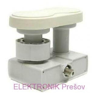 LNB konvertor monoblock 4,3° single
