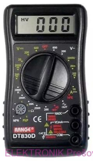 Multimeter DT830D